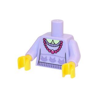 LEGO LSK655 - LEGO alkatrész - Minifigura torzó