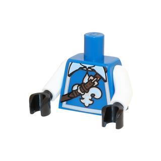 LEGO LSK658 - LEGO Alkatrészek - Minifigura torzó (658)
