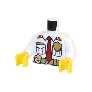 LEGO LSK702 - LEGO alkatrész - Minifigura torzó