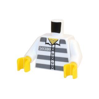 LEGO LSK703 - LEGO Alkatrészek - Minifigura torzó (703)