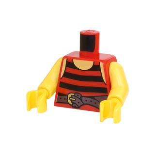 LEGO LSK704 - LEGO Alkatrészek - Minifigura torzó (704)