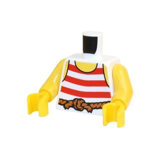 LEGO LSK705 - LEGO Alkatrészek - Minifigura torzó (705)