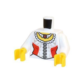 LEGO LSK707 - LEGO Alkatrészek - Minifigura torzó (707)
