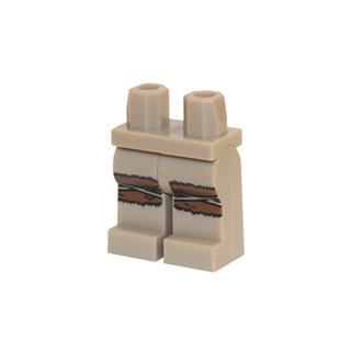 LEGO LSK730 - LEGO alkatrész - Minifigura láb (730)