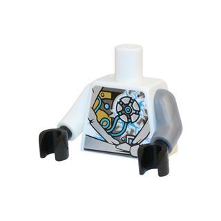 LEGO LSK747 - LEGO Alkatrészek - Minifigura torzó (747)