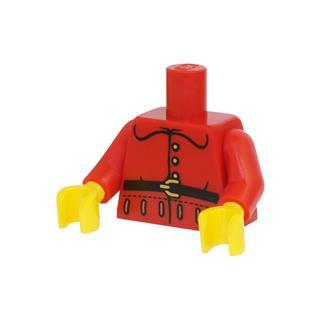 LEGO LSK748 - LEGO alkatrész - Minifigura torzó (748)