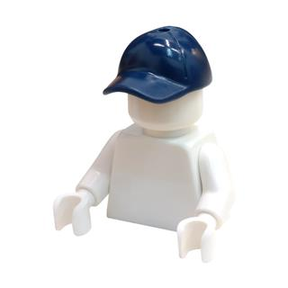 LEGO LSK784 - LEGO Alkatrészek - Minifigura kék baseball sapka (784)