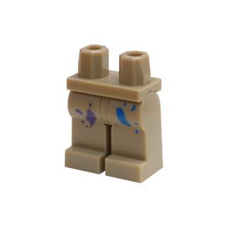 LEGO LSK792 - LEGO alkatrész - Minifigura láb (792)