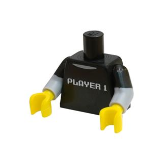 LEGO LSK799 - LEGO Alkatrészek - Minifigura torzó (799)