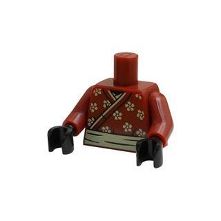 LEGO LSK828 - LEGO Alkatrészek - Minifigura torzó (828)