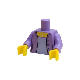LEGO LSK830 - LEGO Alkatrészek - Minifigura torzó (830)
