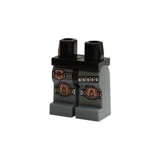 LEGO LSK832 - LEGO alkatrész - Minifigura láb (832)