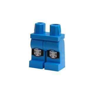 LEGO LSK833 - LEGO alkatrész - Minifigura láb (833)