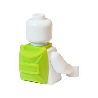 LEGO LSK872 - LEGO Alkatrészek - Zöld hátizsák (872)