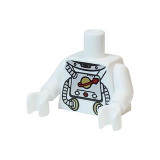 LEGO LSK873 - LEGO alkatrész - Minifigura torzó