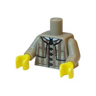 LEGO LSK875 - LEGO alkatrész - Minifigura torzó