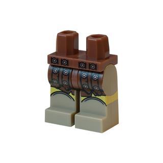 LEGO LSK876 - LEGO Alkatrészek - Minifigura láb (876)