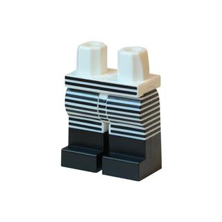LEGO LSK877 - LEGO alkatrész - Minifigura láb