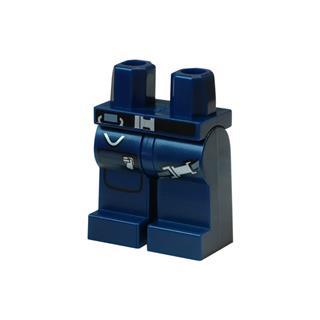 LEGO LSK878 - LEGO Alkatrészek - Minifigura láb (878)
