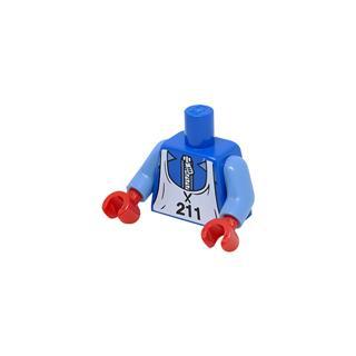 LEGO LSK979 - LEGO alkatrész - Minifigura torzó