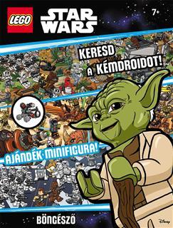 LEGO LSW005 - LEGO Star Wars könyv - Keresd a kémdroidot!