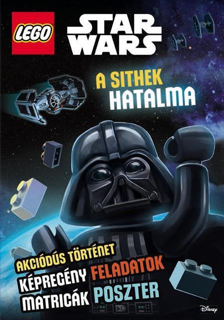 LEGO LSW006 - LEGO Star Wars könyv - A sithek hatalma