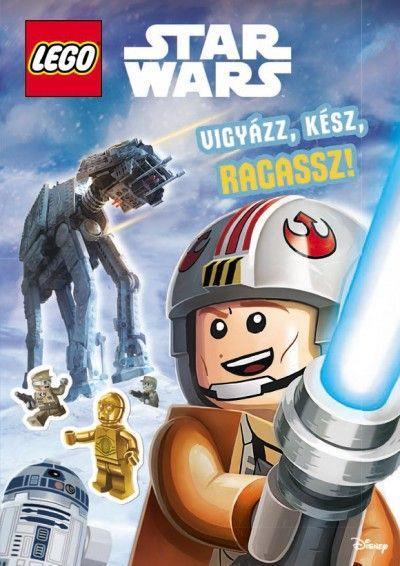 LEGO LSW007 - LEGO Star Wars könyv - Vigyázz, kész, ragassz!