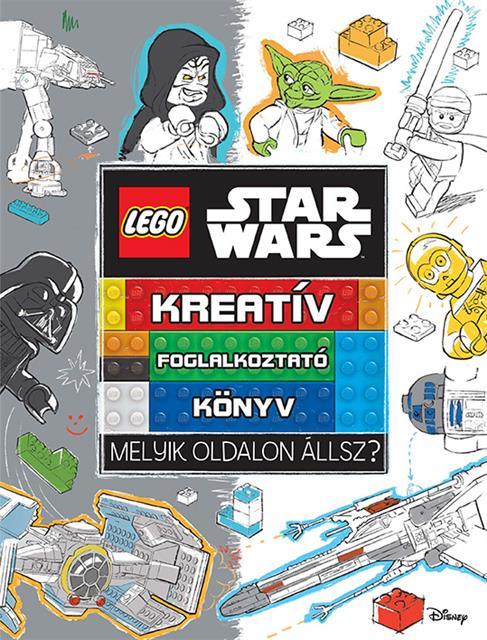 LEGO LSW008 - LEGO Star Wars - Kreatív foglalkoztató könyv