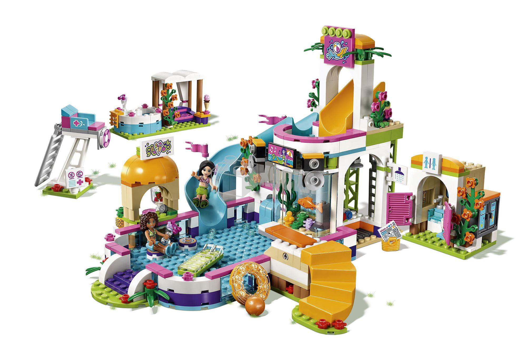 Kocka Hu Lego 41313 Lego Friends Heartlake 201 Lm 233 Nyf 252 Rdő